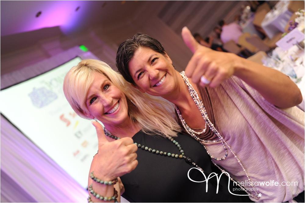 Erin Brockovich with Photographer Melissa Wolfe