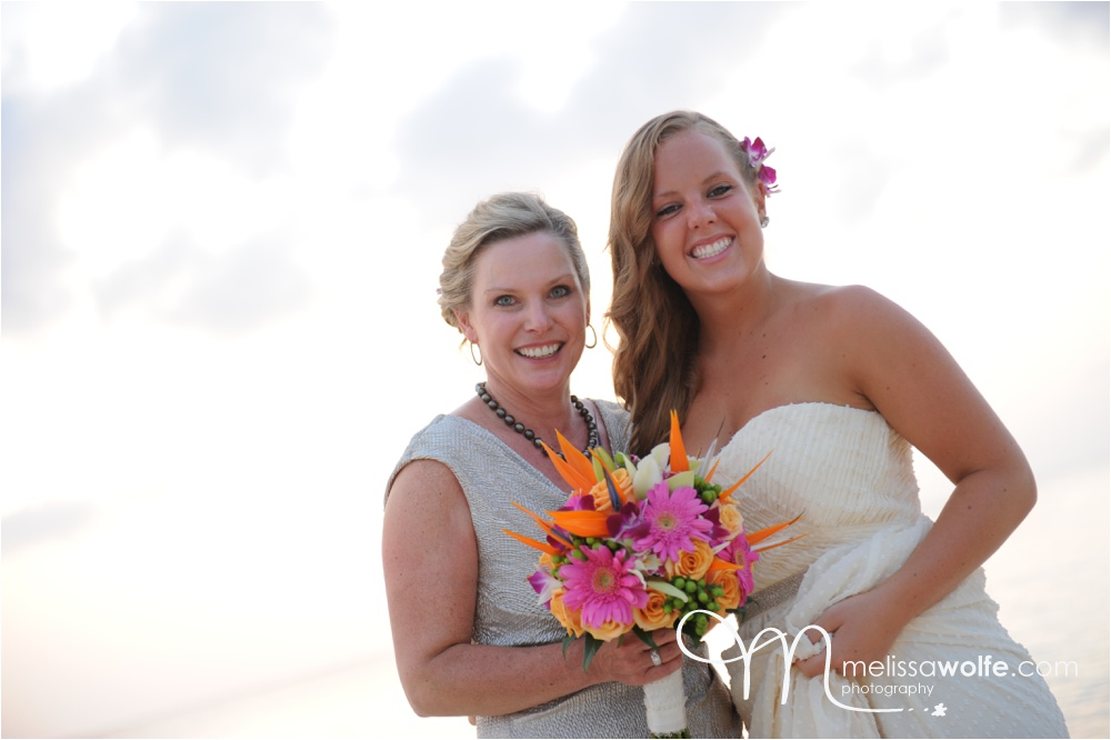 Seven Mile Beach Wedding by Melissa Wolfe