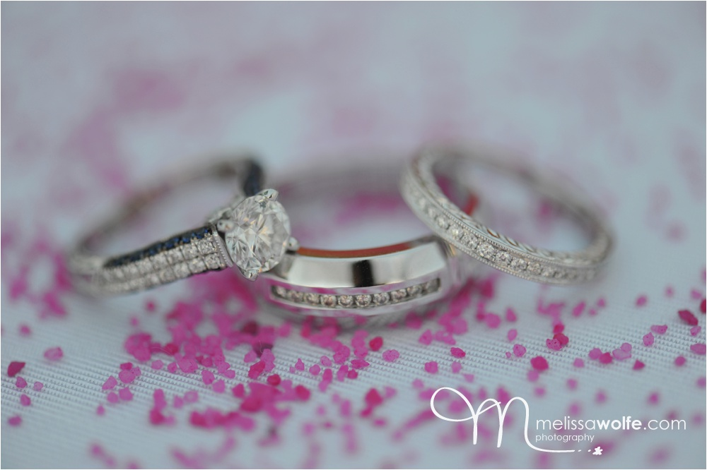 gorgeous rings at a Cayman Islands wedding