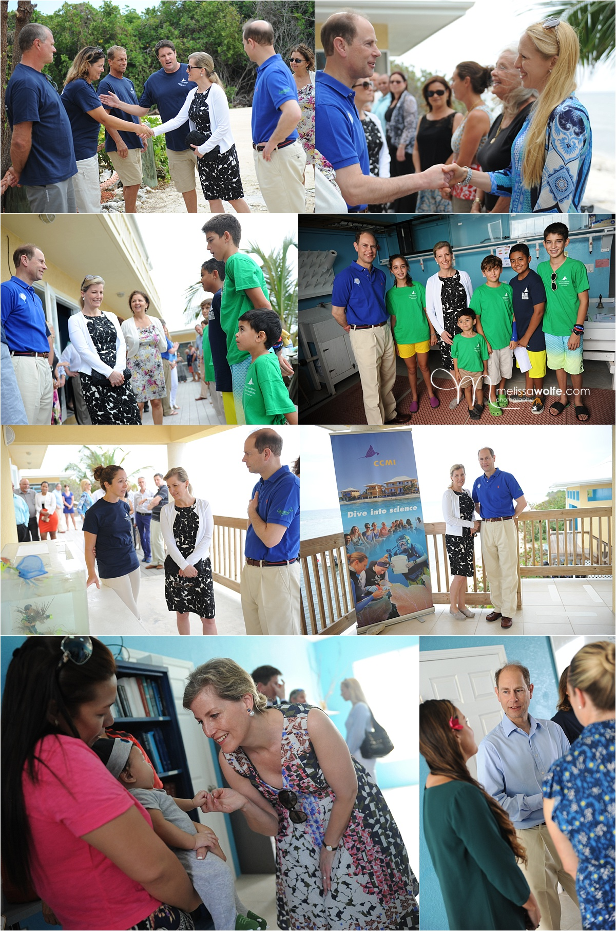 Royal Visit to Little Cayman