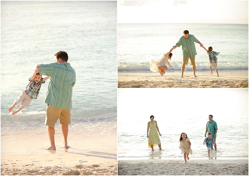 Seven Mile Beach Family Session