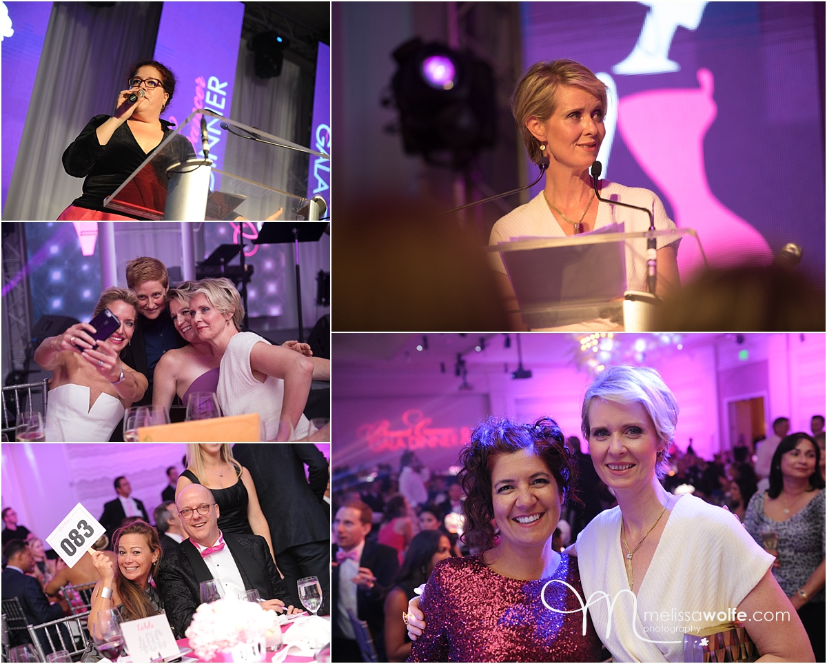 cynthia nixon at breast cancer gala dinner 2016 in Cayman
