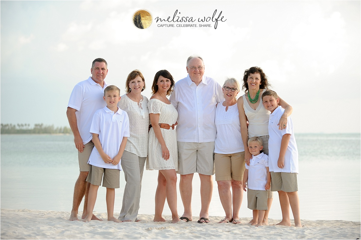 Cayman Family Beach Portrait