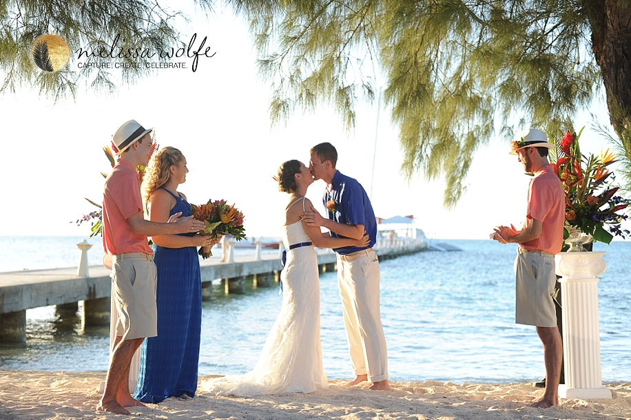 Rum Point Wedding Grand Cayman