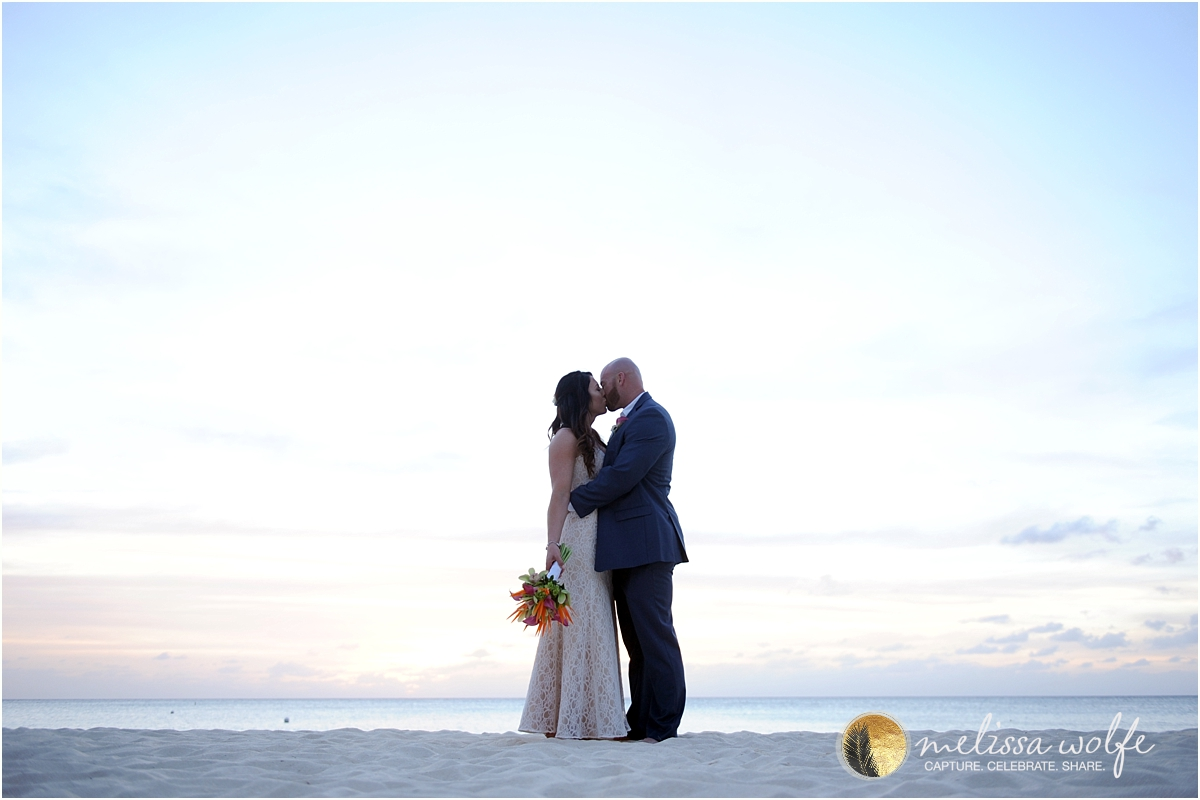cayman beach wedding photographer melissa wolfe