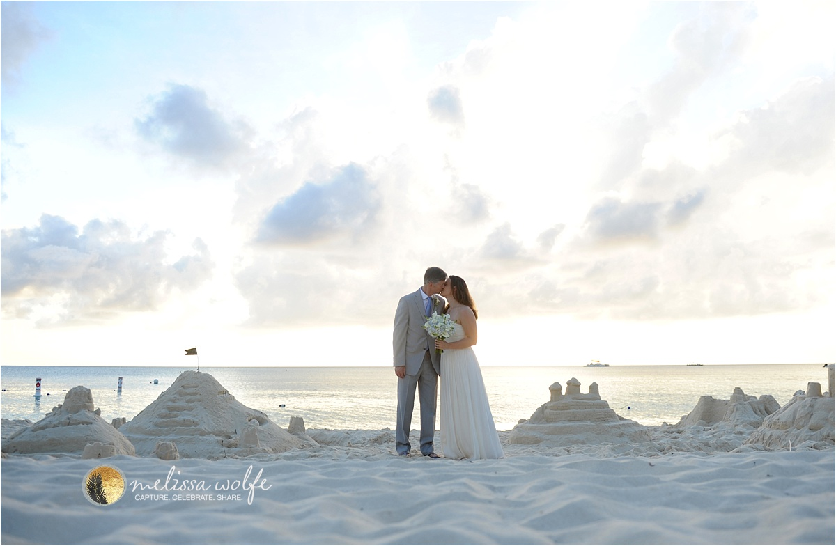 Intimate Wedding Luxury Caribbean Resort photographed by Melissa Wolfe
